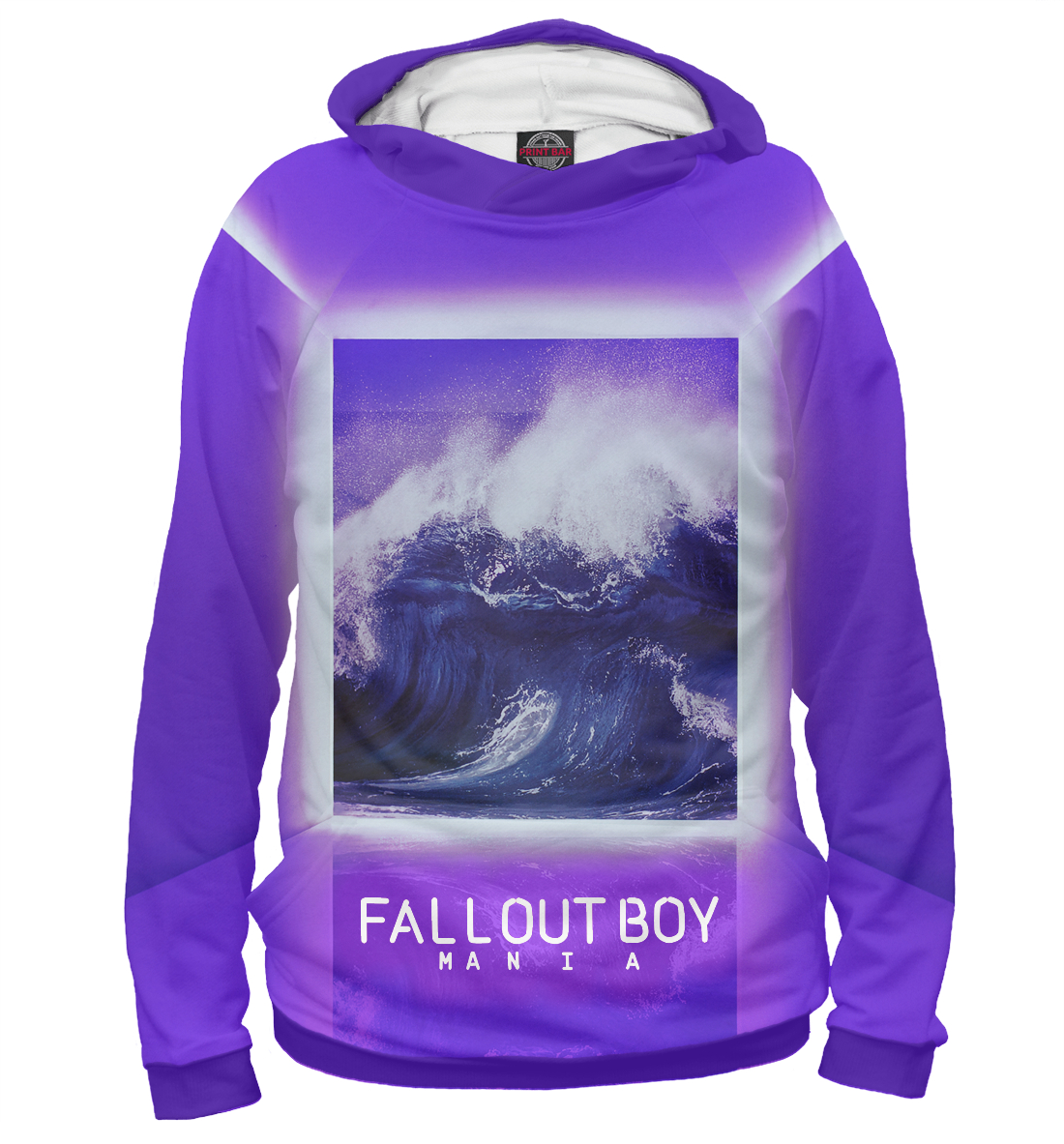 Купить Fall Out Boy MANIA, Printbar, Худи, FOB-156204-hud-2