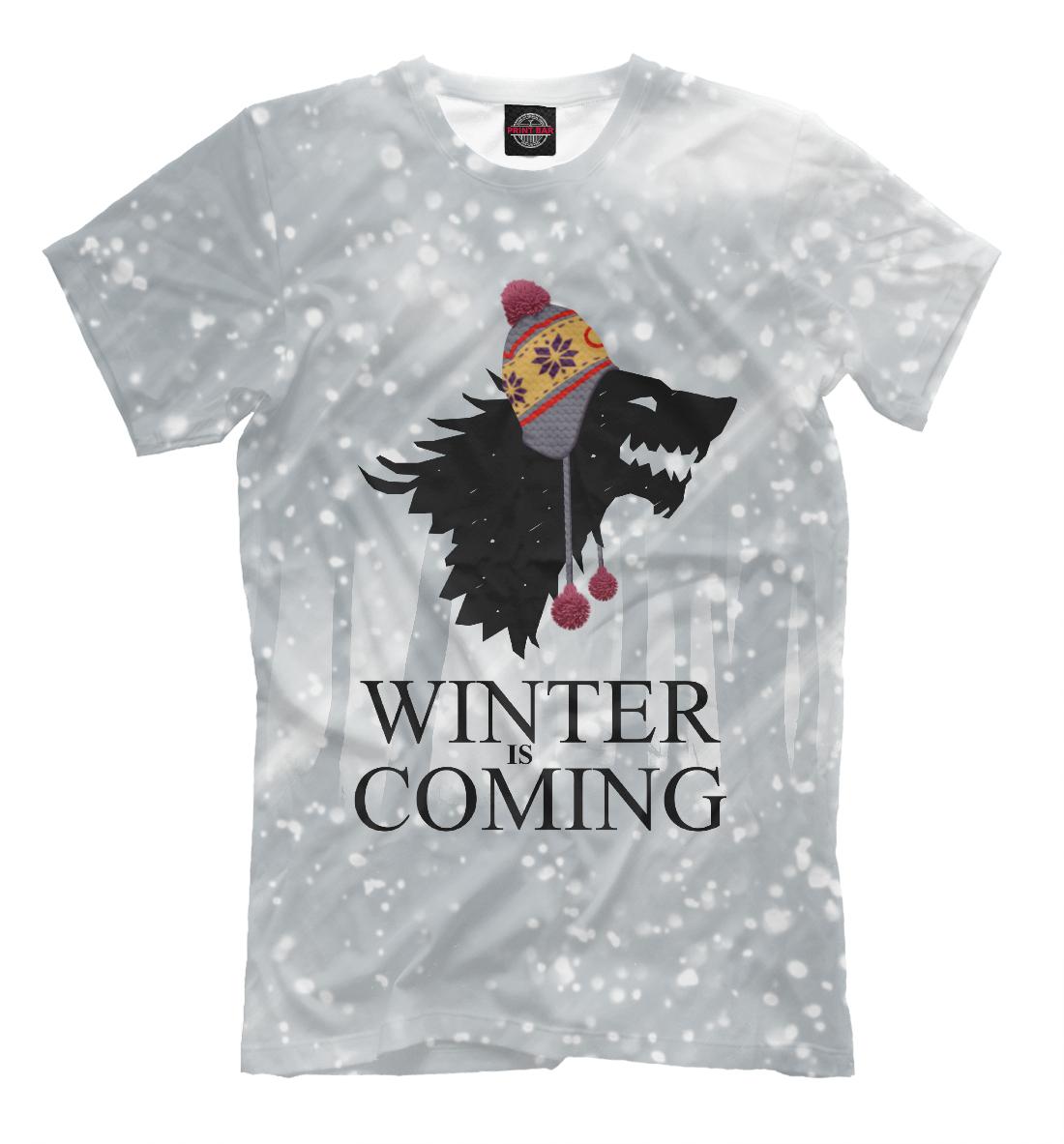 Купить Зима близко, Printbar, Футболки, IGR-323519-fut-2