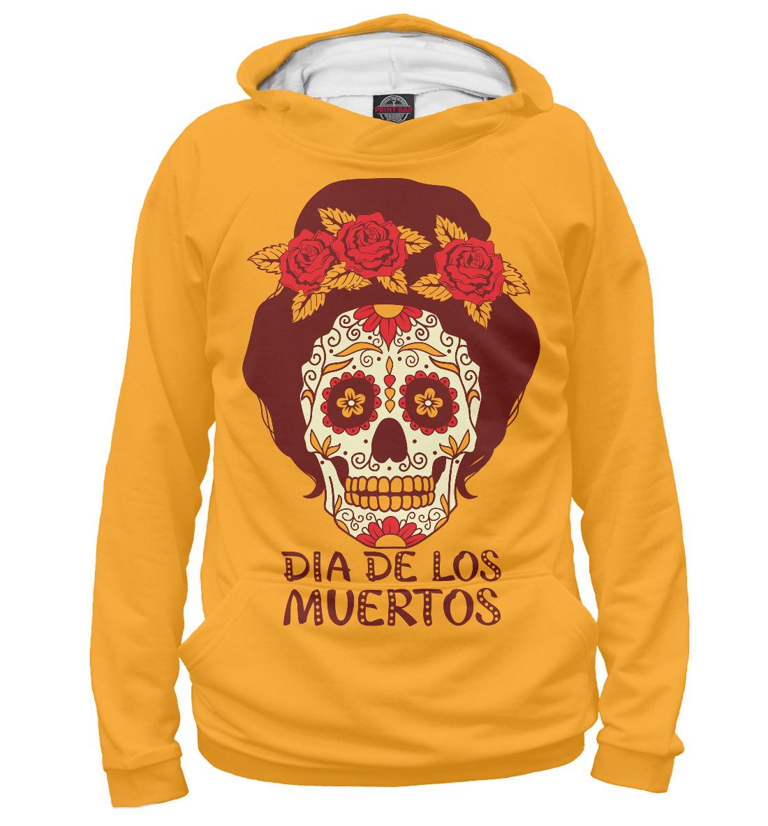 Купить День мёртвых, Мексика, Printbar, Худи, CTS-249876-hud-1