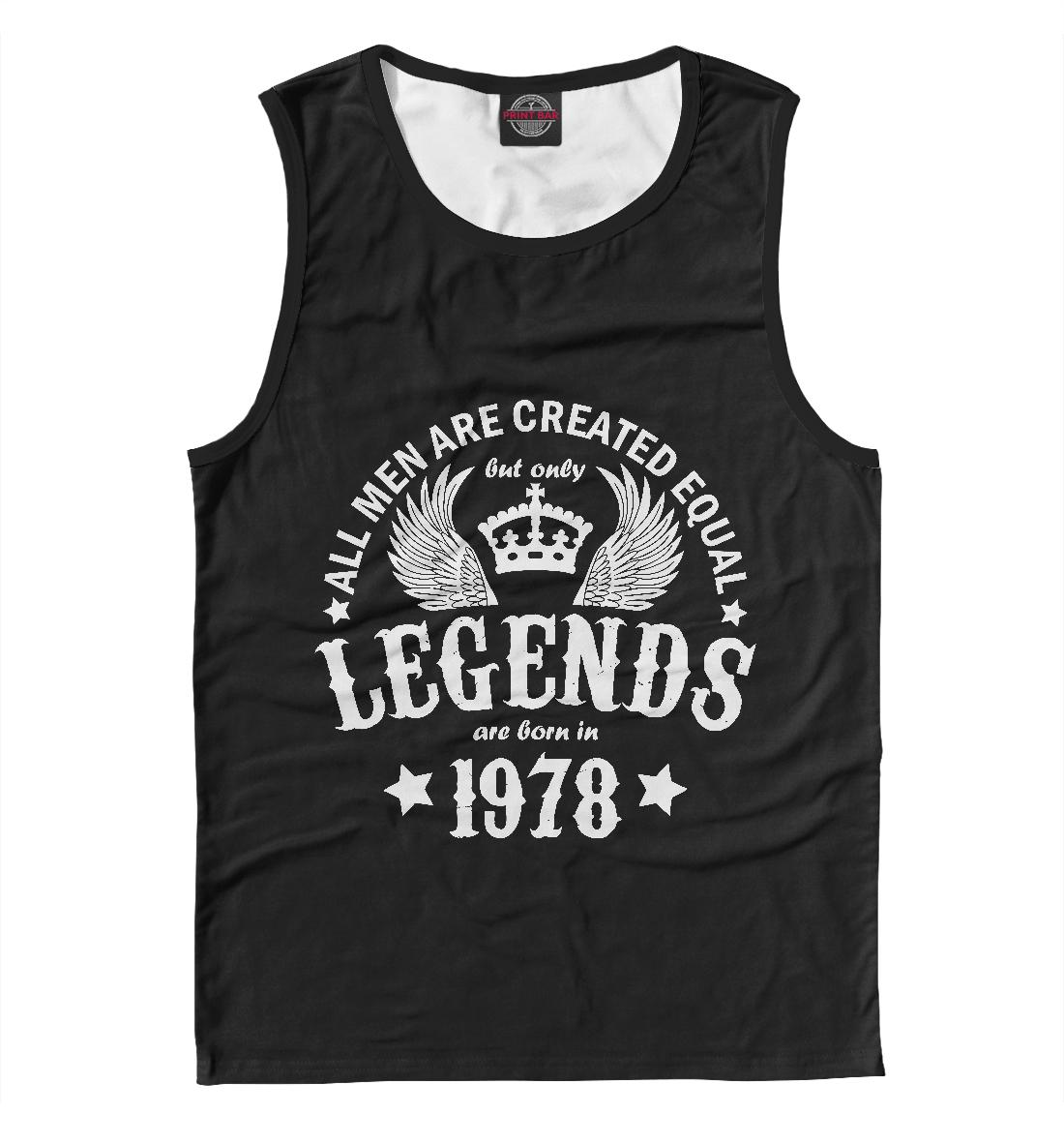 Купить 1978 - рождение легенды, Printbar, Майки, DSV-102942-may-2