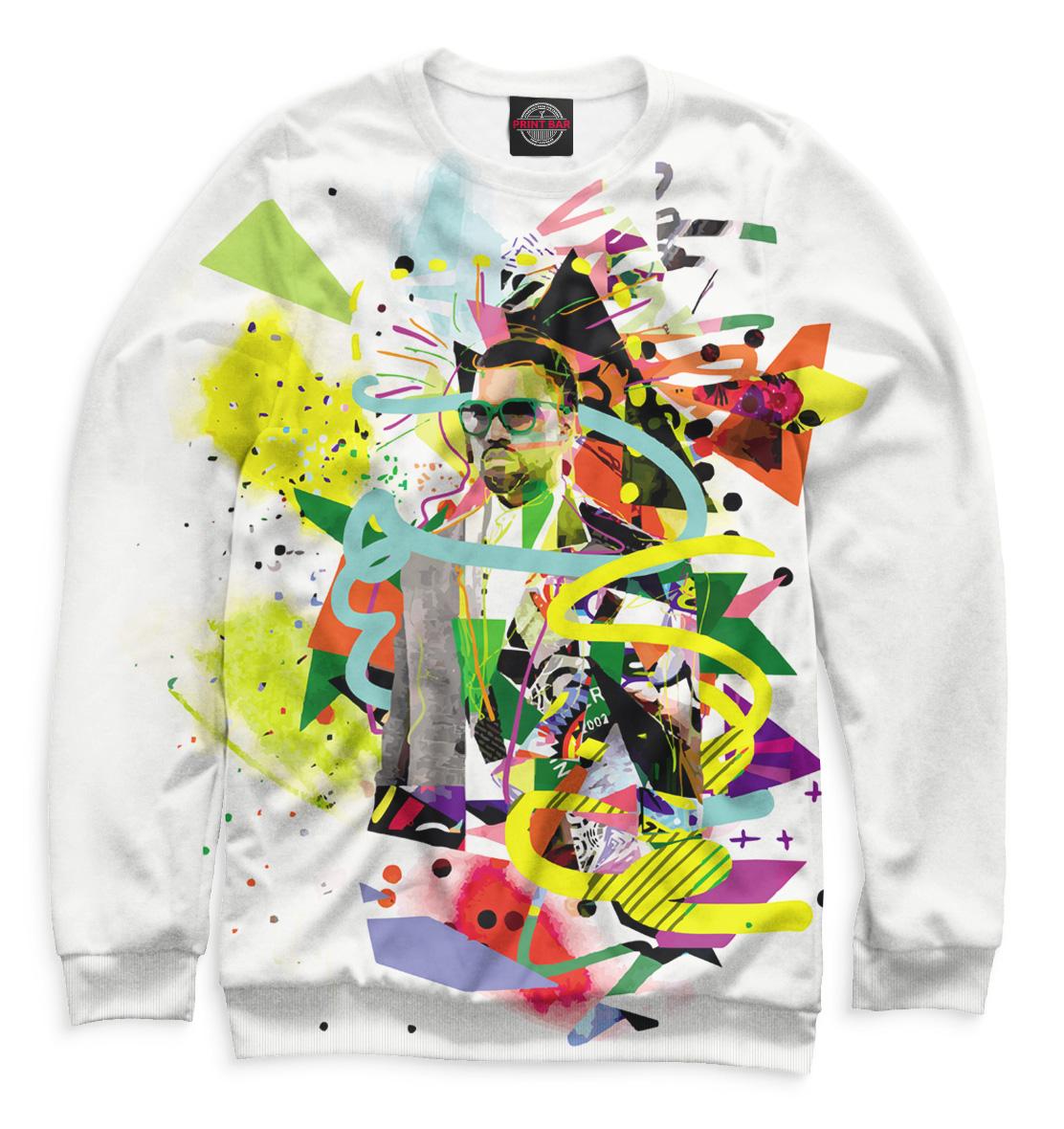 Купить Kanye West, Printbar, Свитшоты, KAW-569254-swi-2