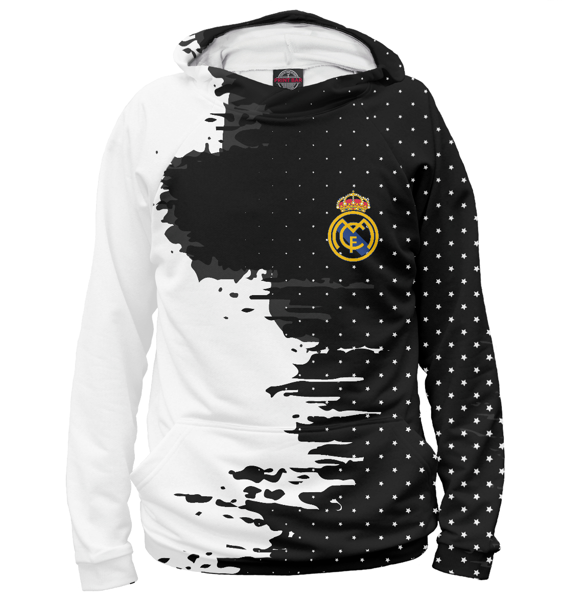 Купить Real Madrid sport, Printbar, Худи, REA-646080-hud-2