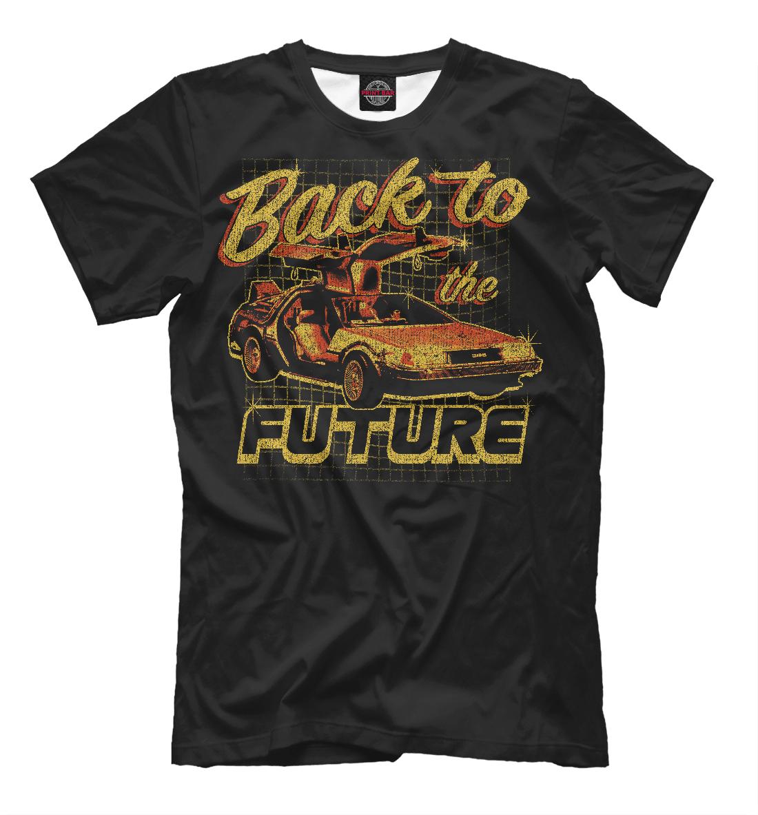 Купить Назад в будущее, Printbar, Футболки, KNO-142460-fut-2