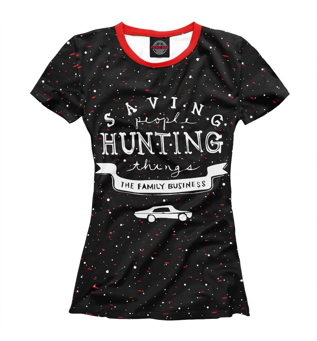 Купить Saving Hunting, Printbar, Футболки, SVE-516424-fut-1