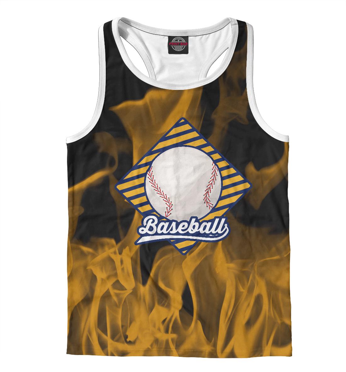 Купить Огненный бейсбол, Printbar, Майки борцовки, APD-835216-mayb-2