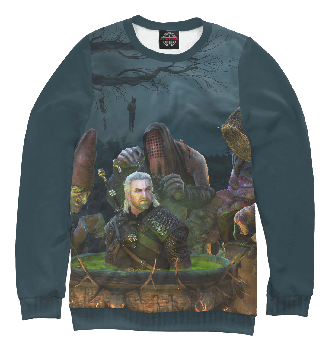 Купить The Witcher 3: Wild Hunt, Printbar, Свитшоты, WTR-608297-swi-2