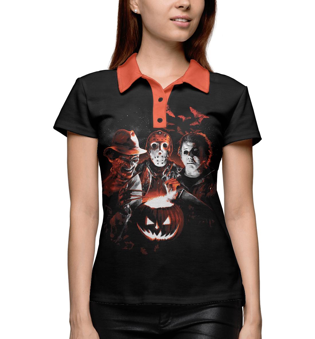 Купить Halloween Horror Team, Printbar, Поло, HOR-516046-pol-1