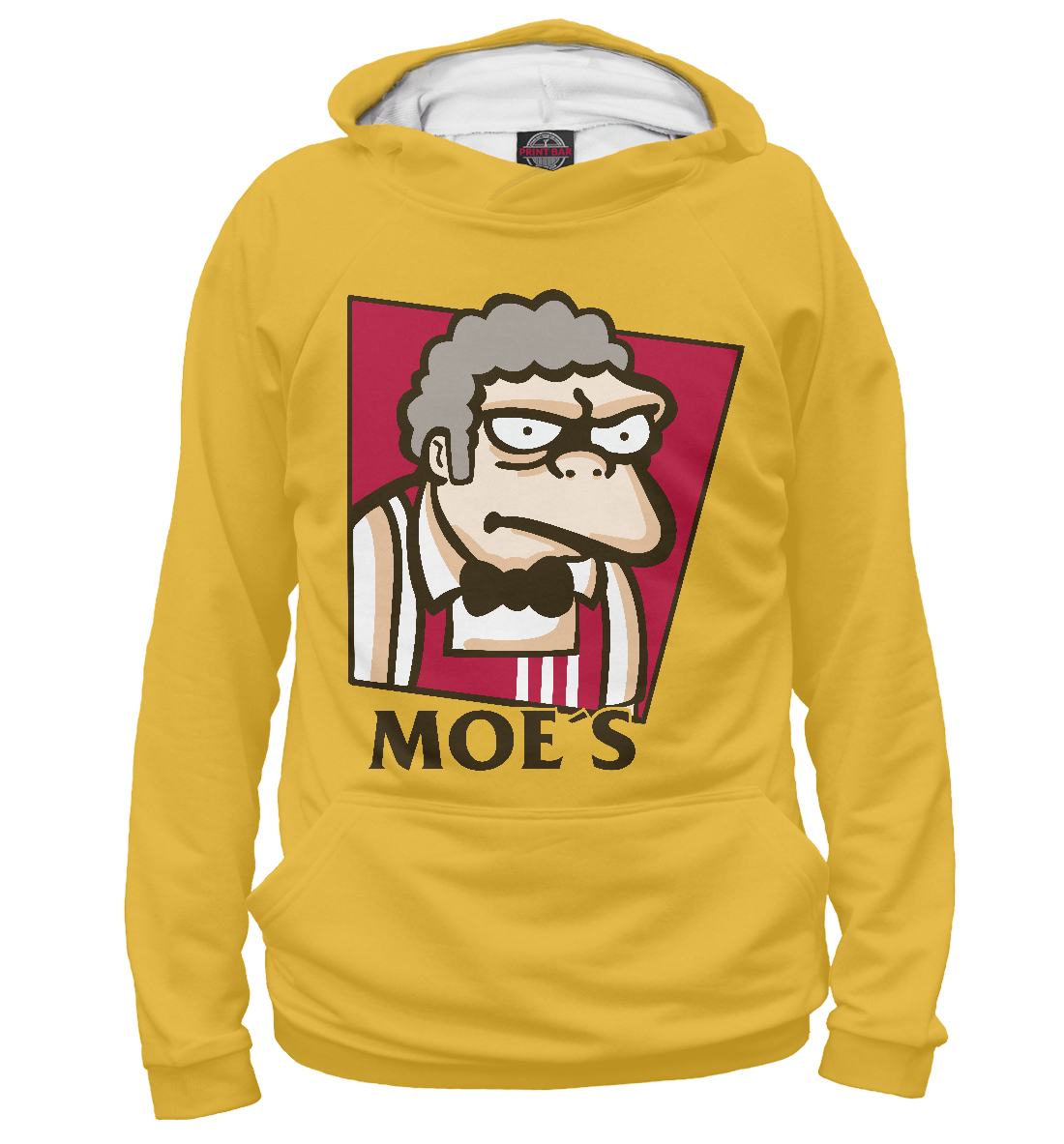 Купить Мо - Симпсоны, Printbar, Худи, SIM-520156-hud-1