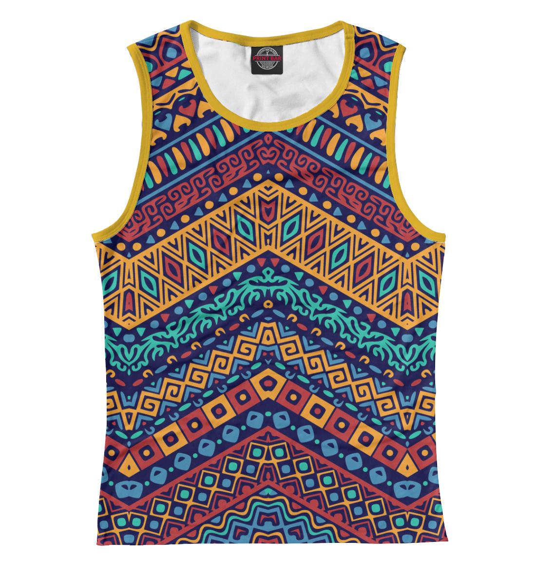 Купить Африканский мотив, Printbar, Майки, CTS-356305-may-1