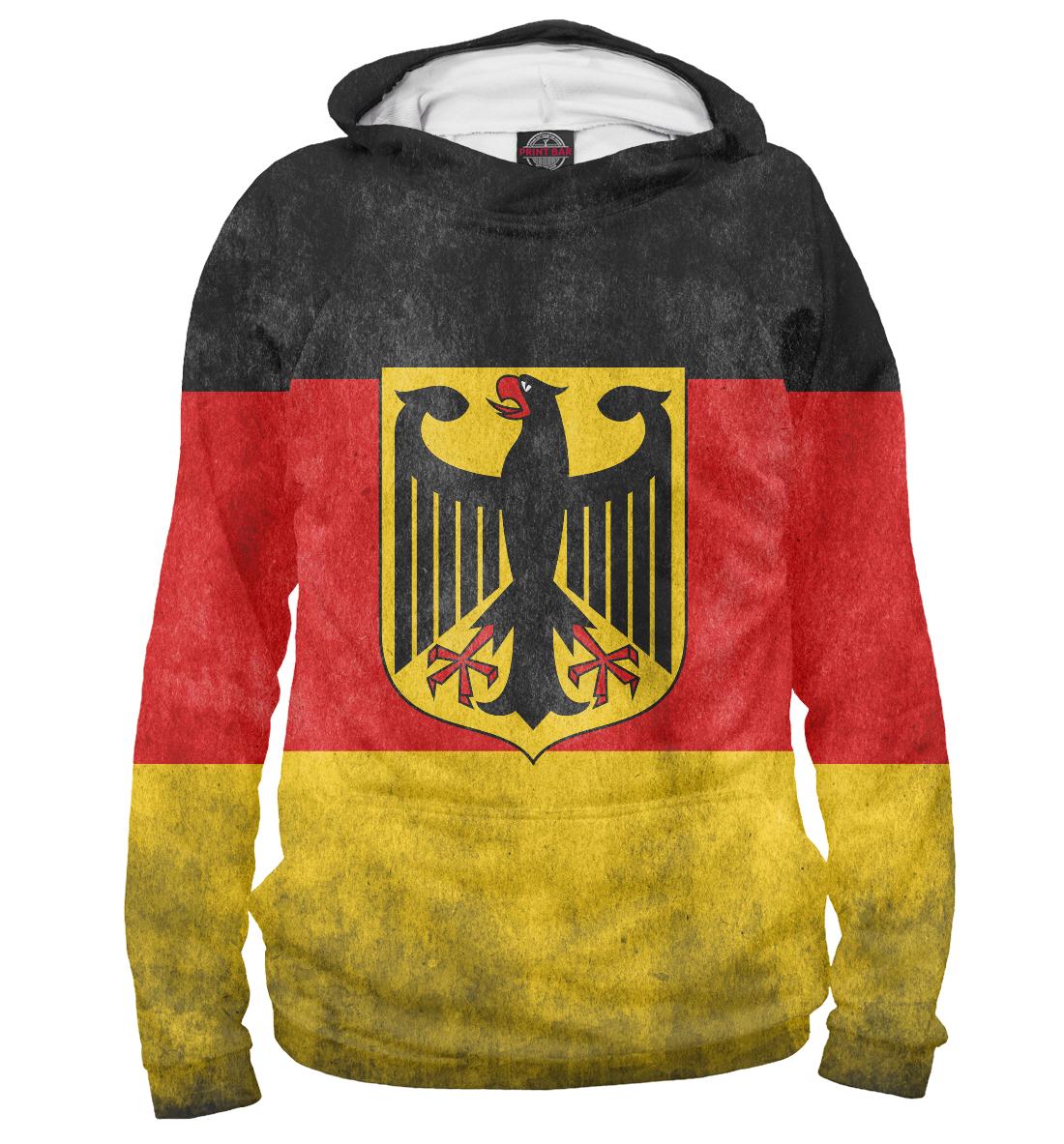 Купить Флаг Германии, Printbar, Худи, CTS-391031-hud-2
