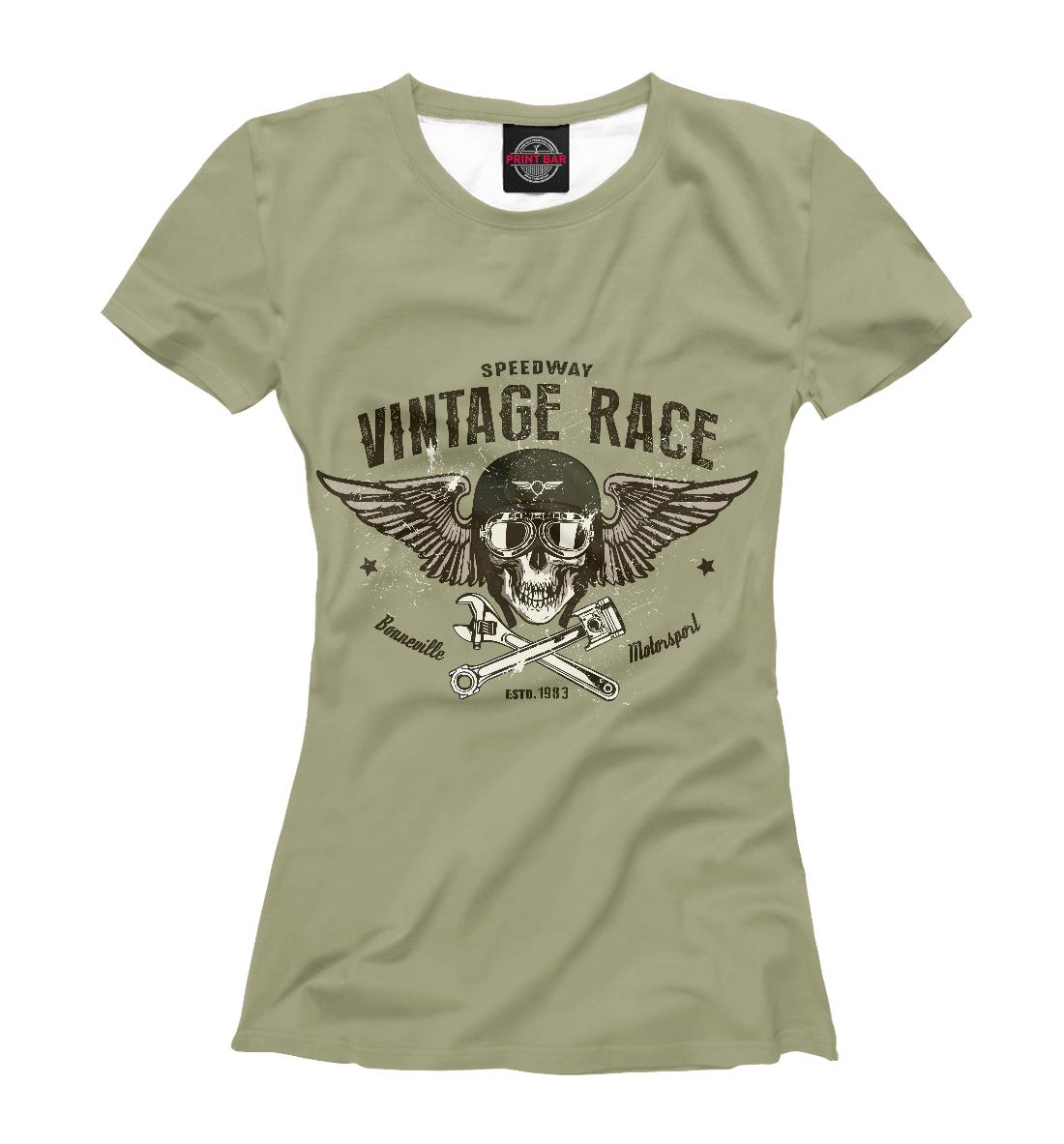 Купить Vintage Race, Printbar, Футболки, MTR-578307-fut-1