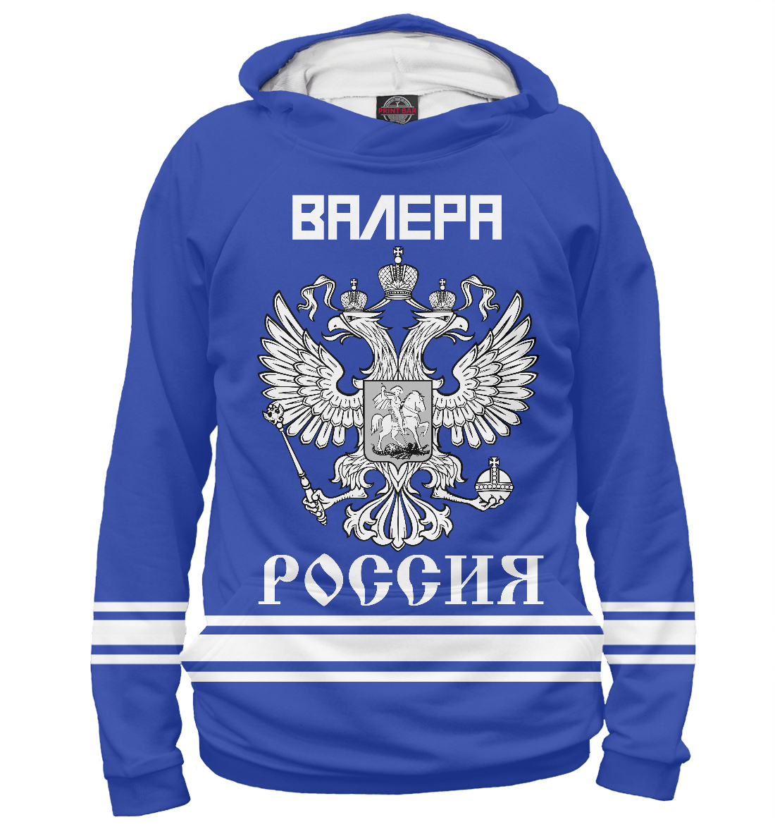 Купить ВАЛЕРА sport russia collection, Printbar, Худи, VLR-458019-hud-1