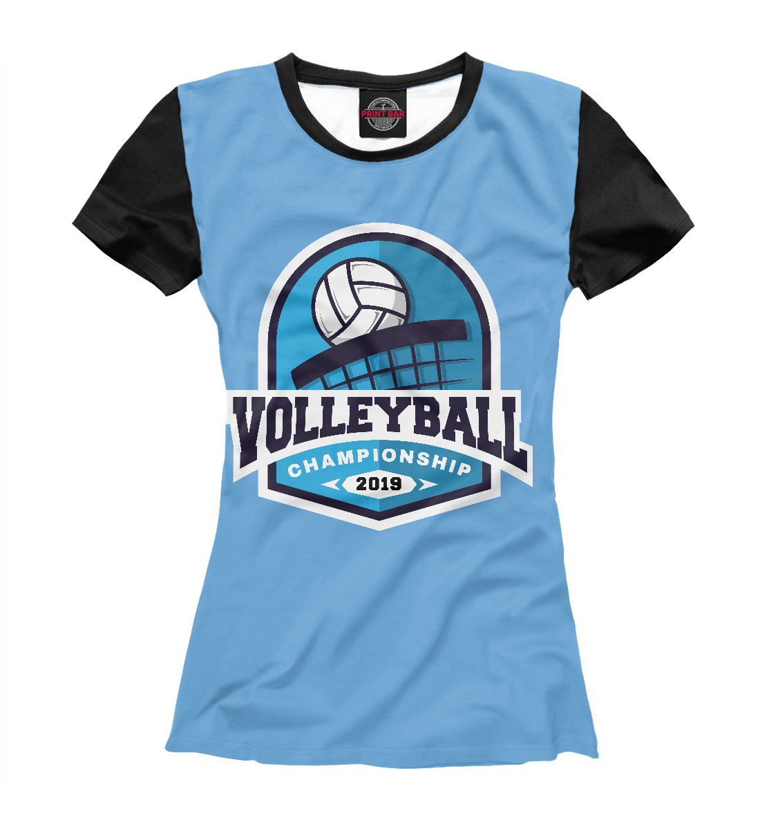 Купить Volleyball, Printbar, Футболки, VLB-862792-fut-1
