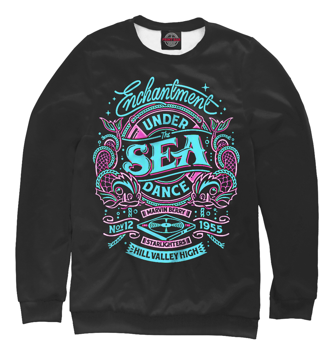 Купить Морской танец, Printbar, Свитшоты, APD-644912-swi-1