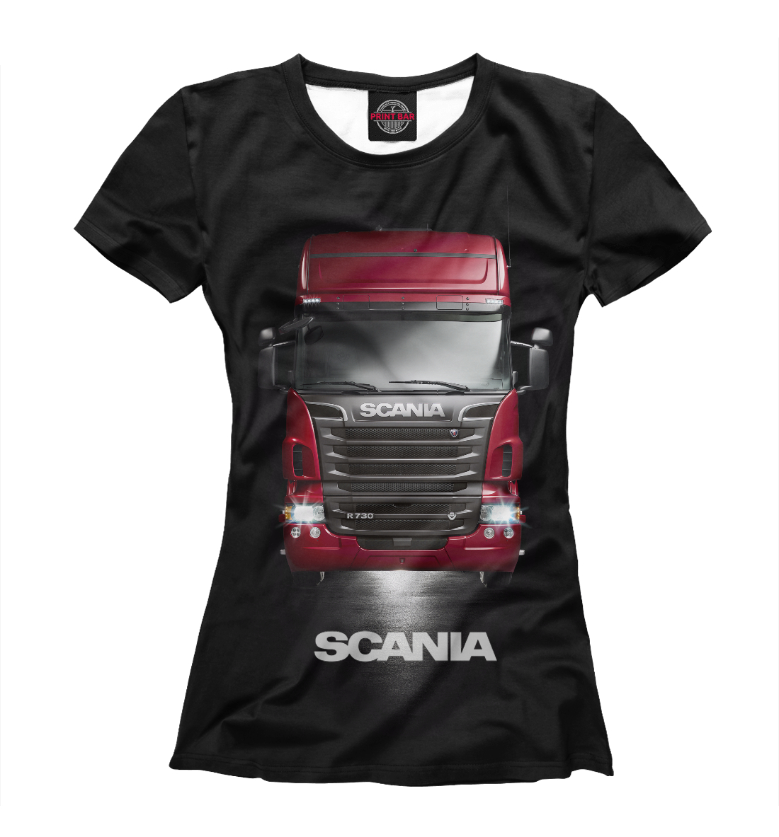Купить Scania, Printbar, Футболки, GRZ-196237-fut-1