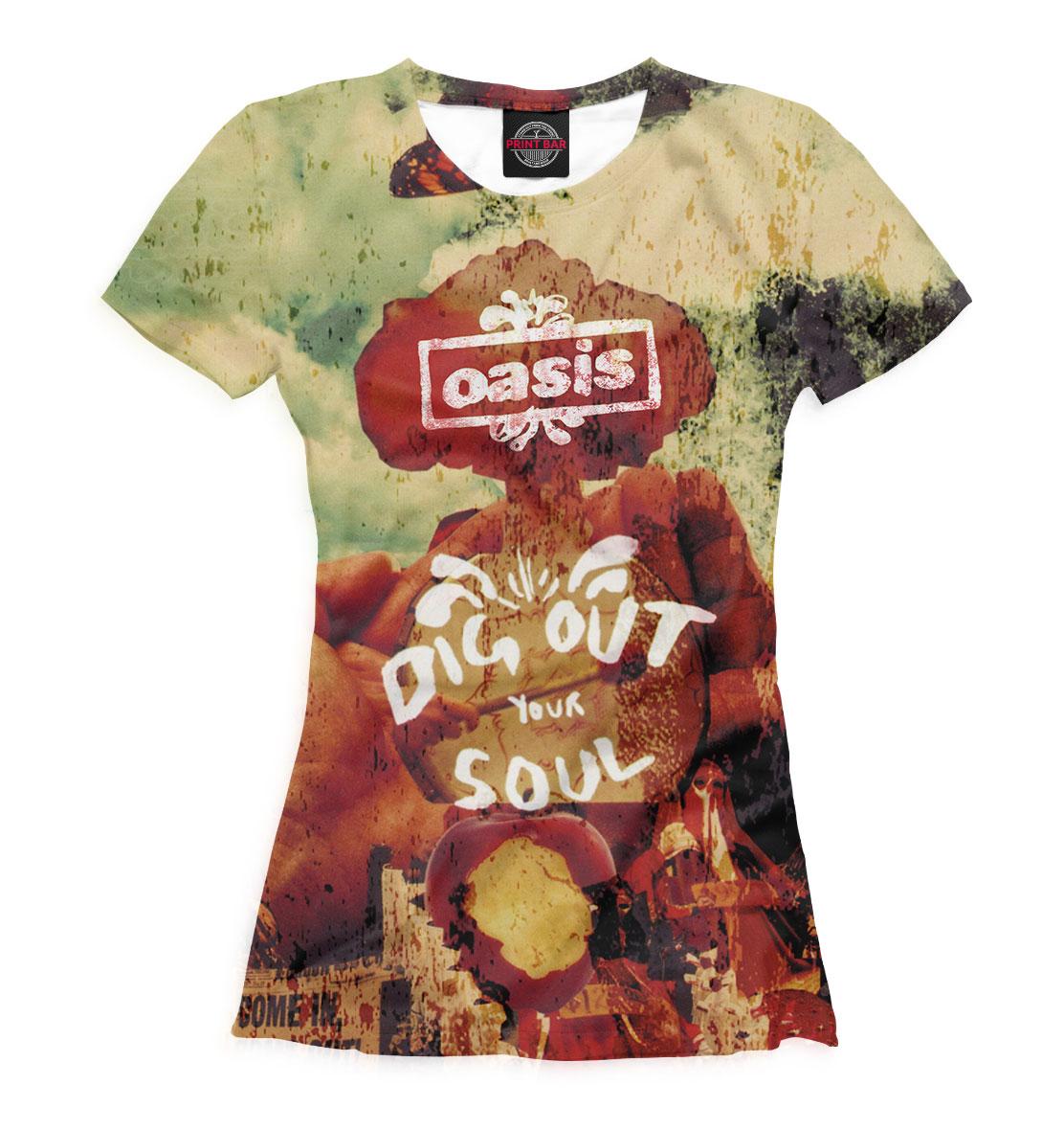 Купить Oasis, Printbar, Футболки, OAS-866076-fut-1