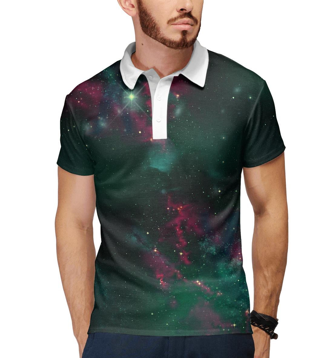 Купить Звёздный путь, Printbar, Поло, SPA-218743-pol-2