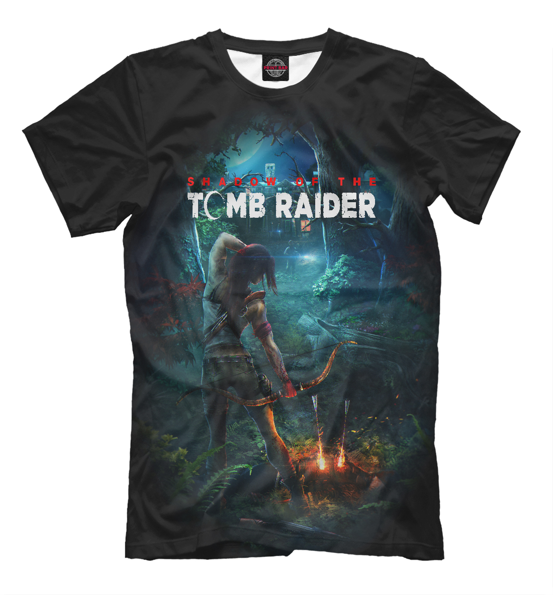 Купить Tomb Raider 2018, Printbar, Футболки, TBR-974472-fut-2