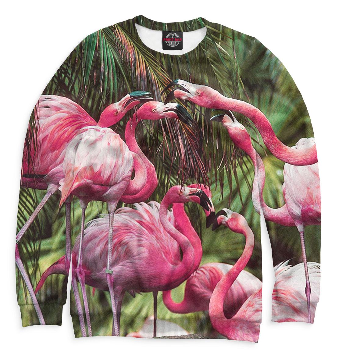 Купить Розовые фламинго, Printbar, Свитшоты, PTI-445626-swi-2