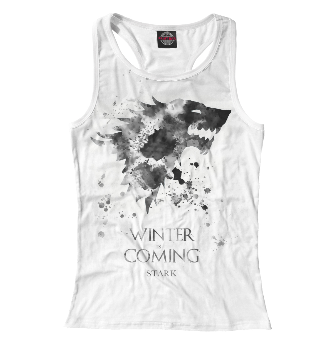 Купить Winter Is Coming, Printbar, Майки борцовки, IGR-249024-mayb-1