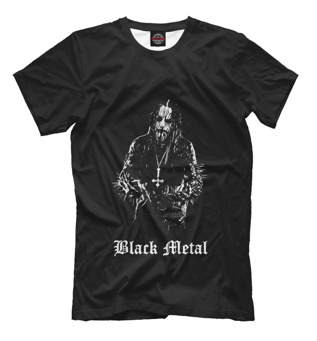 Купить Black Metal, Printbar, Футболки, MZK-885762-fut-2
