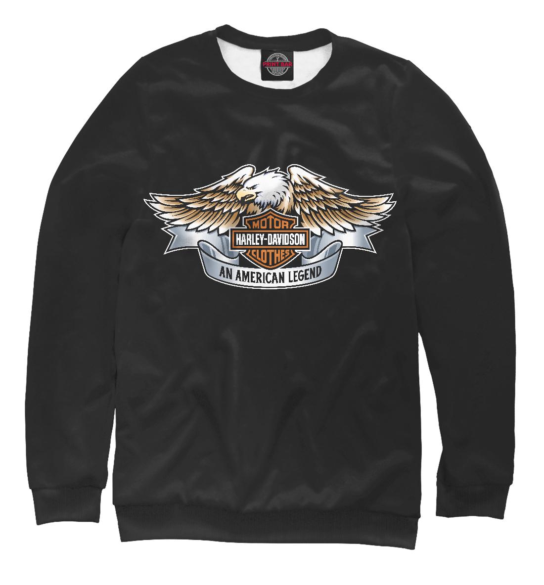 Купить Harley-Davidson An American Legend, Printbar, Свитшоты, HRD-165932-swi-1