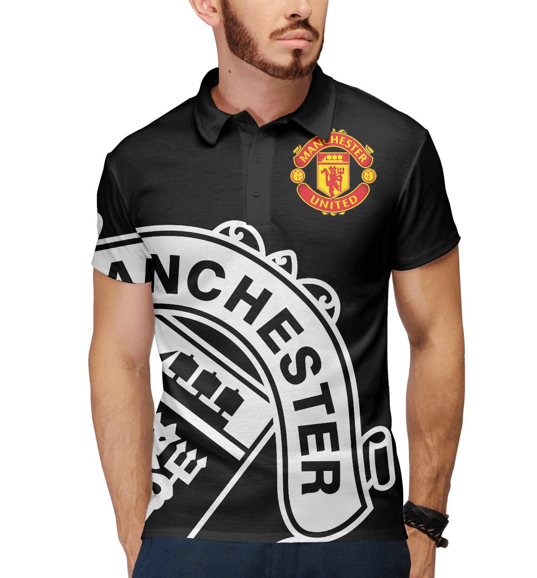 Купить Манчестер Юнайтед, Printbar, Поло, MAN-361388-pol-2