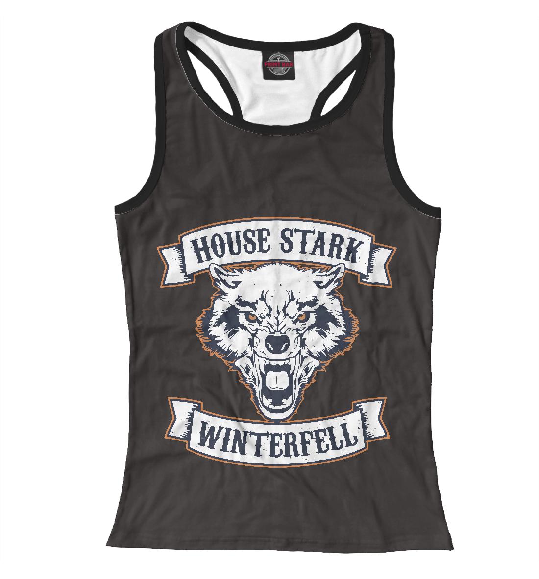 Купить House Stark Winterfell, Printbar, Майки борцовки, IGR-929756-mayb-1