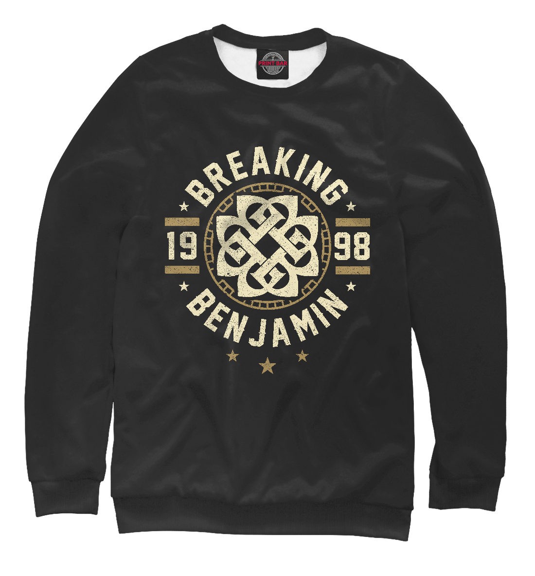 Купить Breaking Benjamin, Printbar, Свитшоты, MZK-591242-swi-2