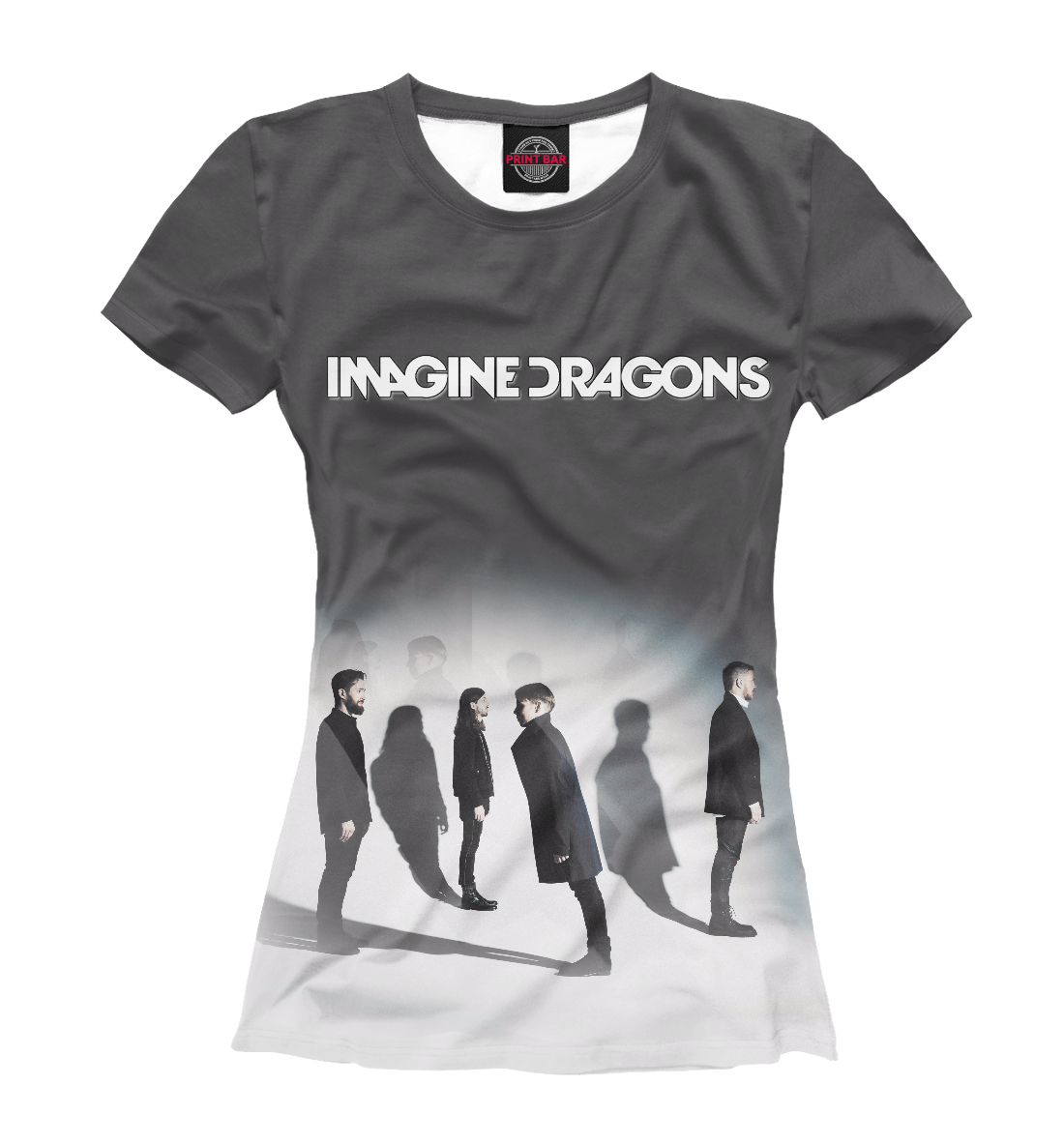 Купить Imagine Dragons, Printbar, Футболки, IMA-477658-fut-1