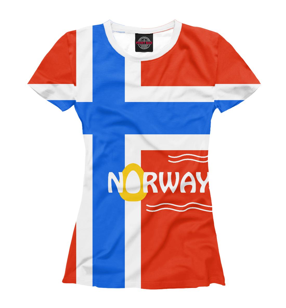 Купить Норвегия, Printbar, Футболки, CTS-292150-fut-1