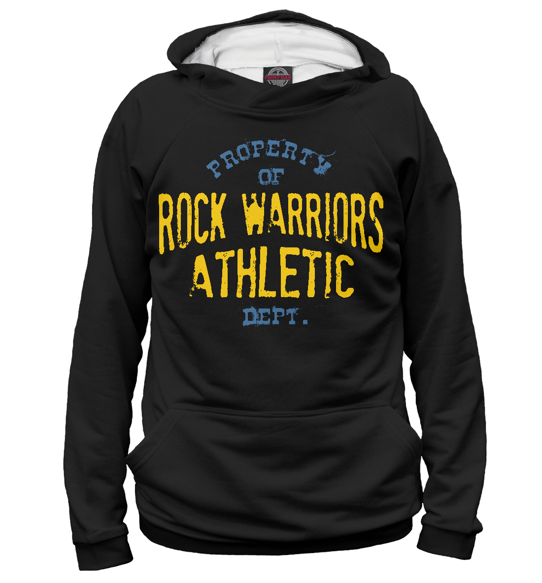Купить Rock Warriors Athletic Dept, Printbar, Худи, APD-280868-hud-1