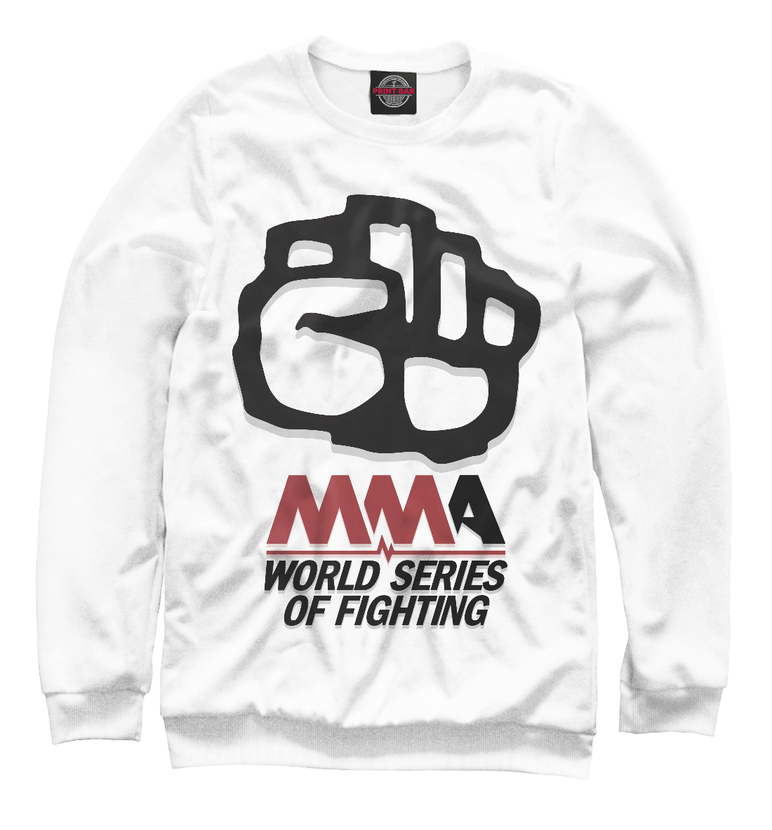 Купить MMA World Series Of Fighting, Printbar, Свитшоты, MNU-538040-swi-2