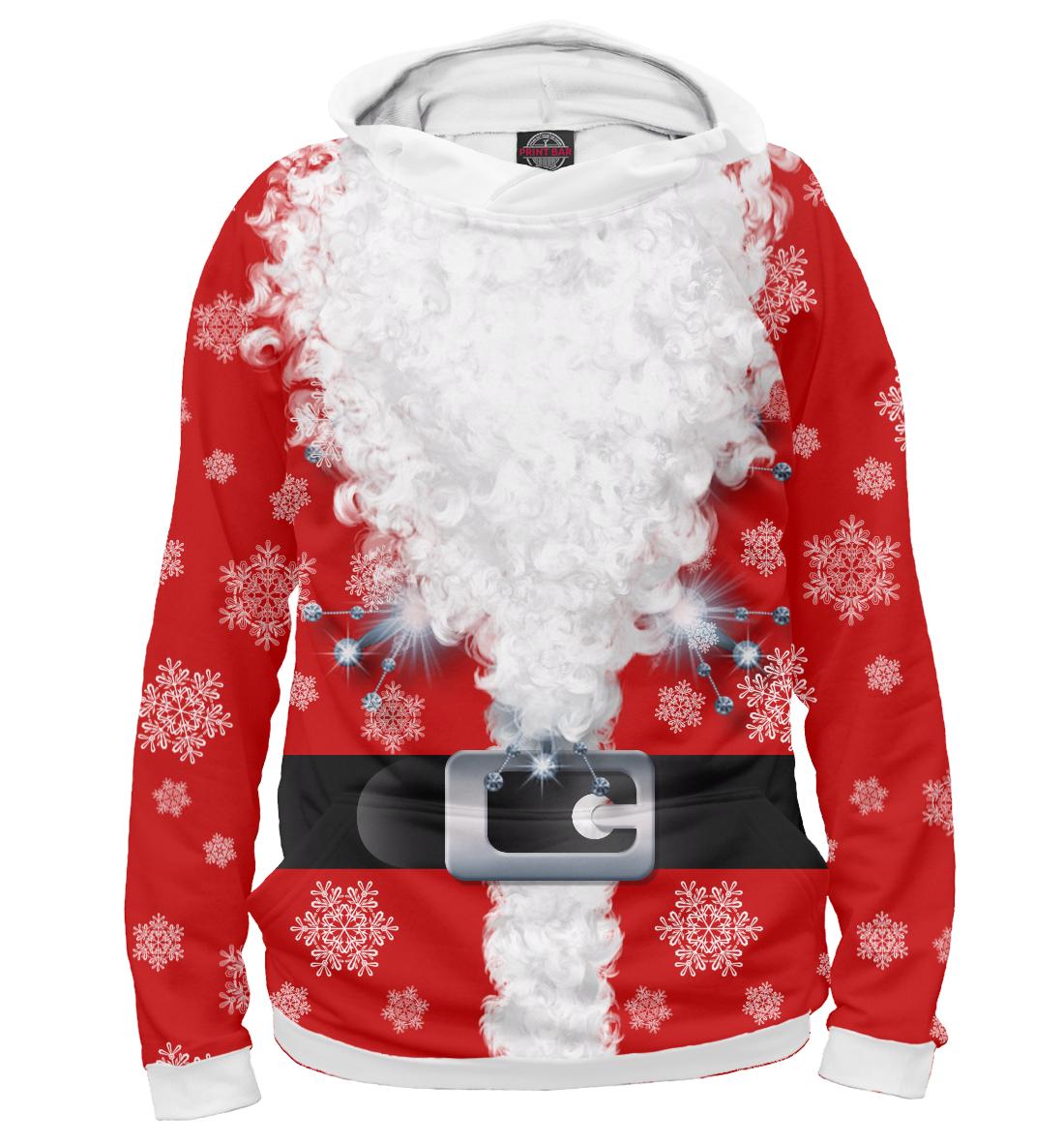 Дед мороз, Printbar, Худи, CST-773312-hud-1  - купить со скидкой