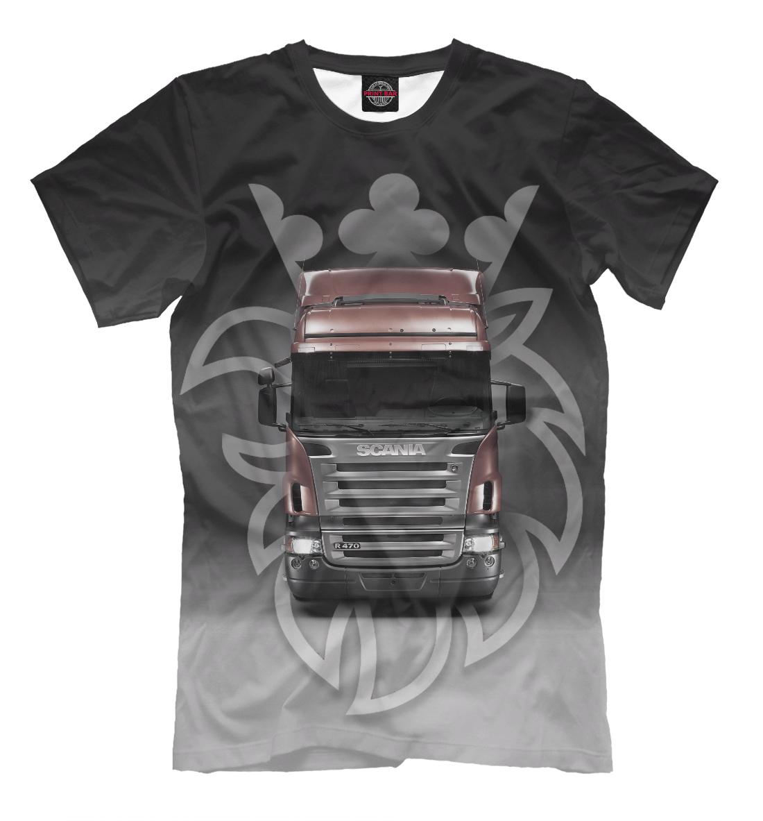 Купить Scania, Printbar, Футболки, GRZ-419575-fut-2