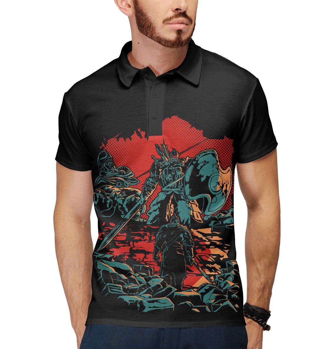 Купить Dark Souls, Printbar, Поло, DKS-891187-pol-2