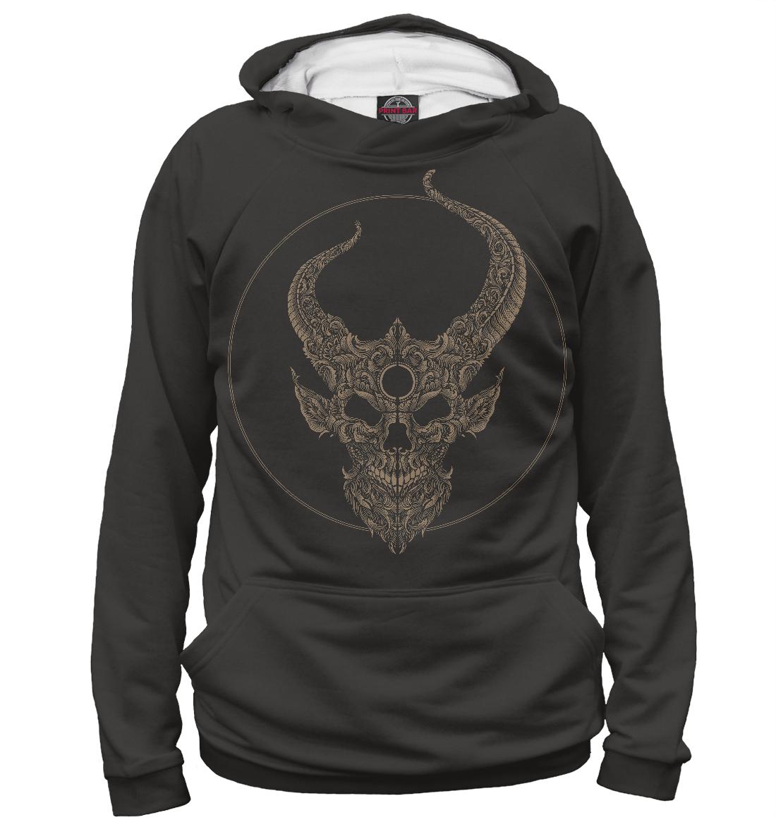 Купить Demon Hunter Logo, Printbar, Худи, MZK-474906-hud-2