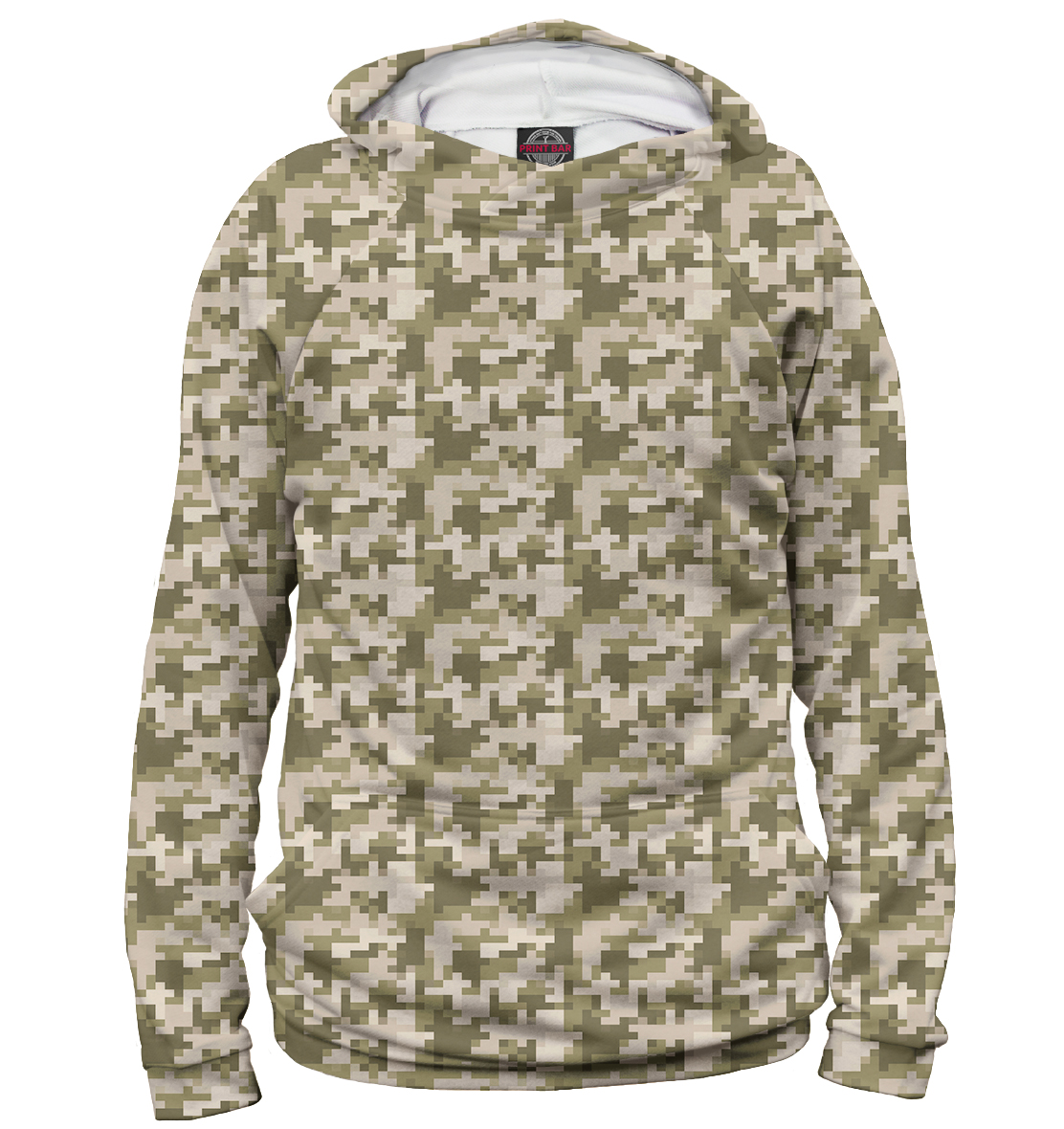 Light Brown Pixel Camouflage