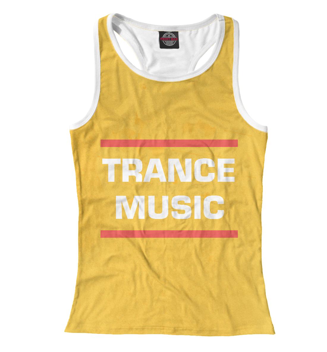 Купить Trance music, Printbar, Майки борцовки, DJS-614478-mayb-1