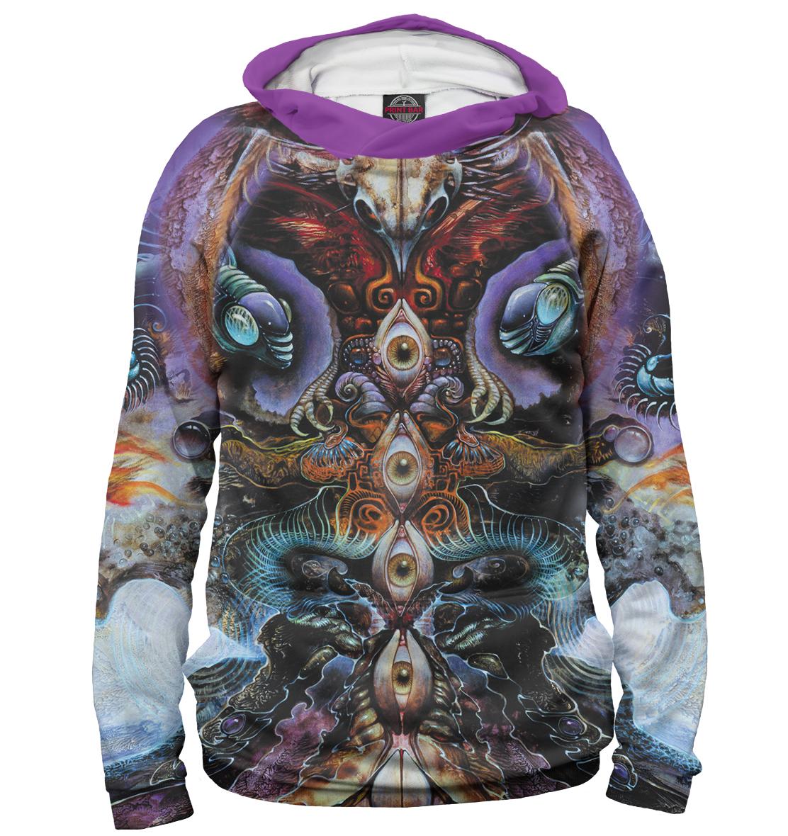 Купить Psychedelic, Printbar, Худи, PSY-635259-hud-1
