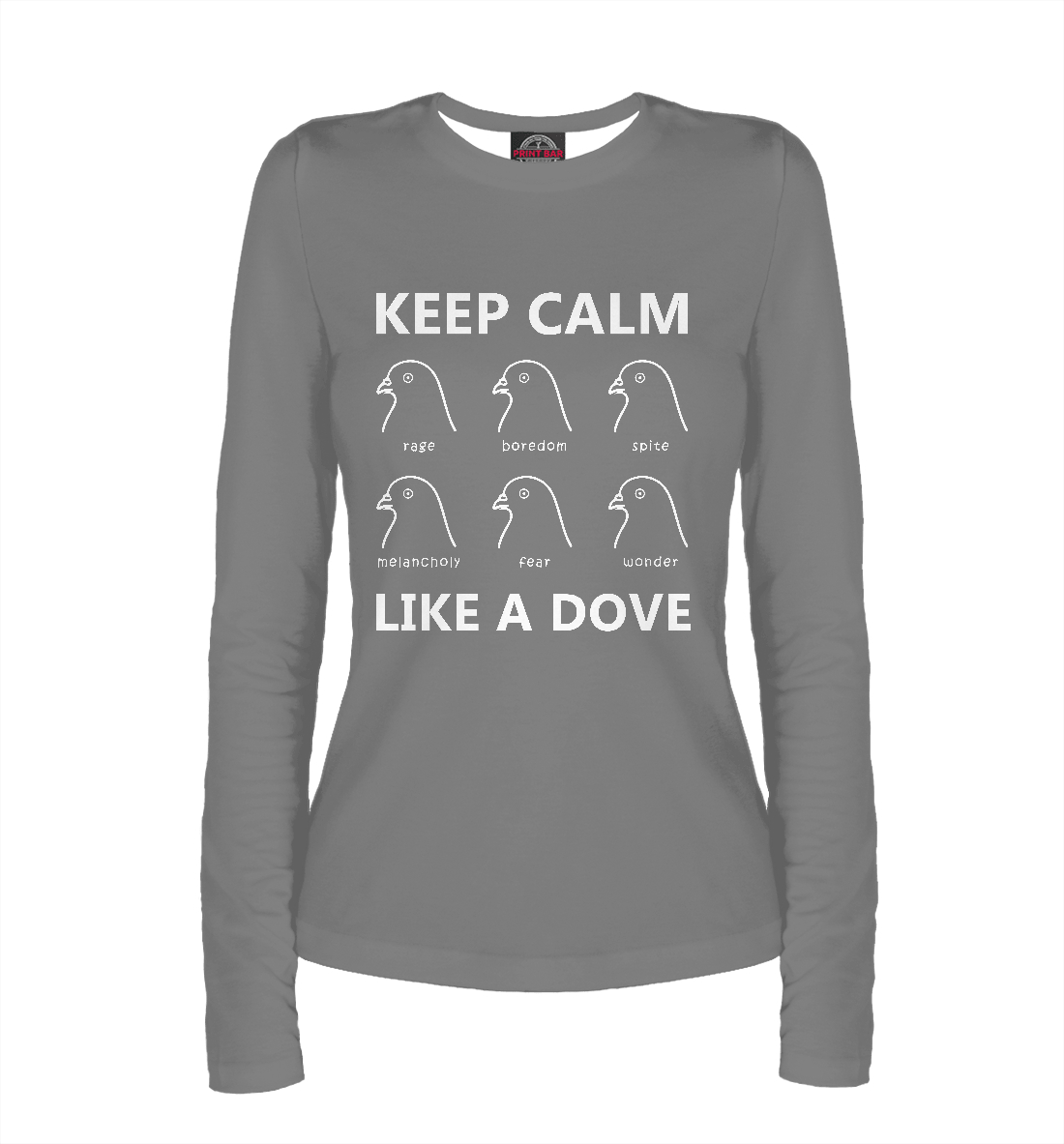Keep calm like a dove