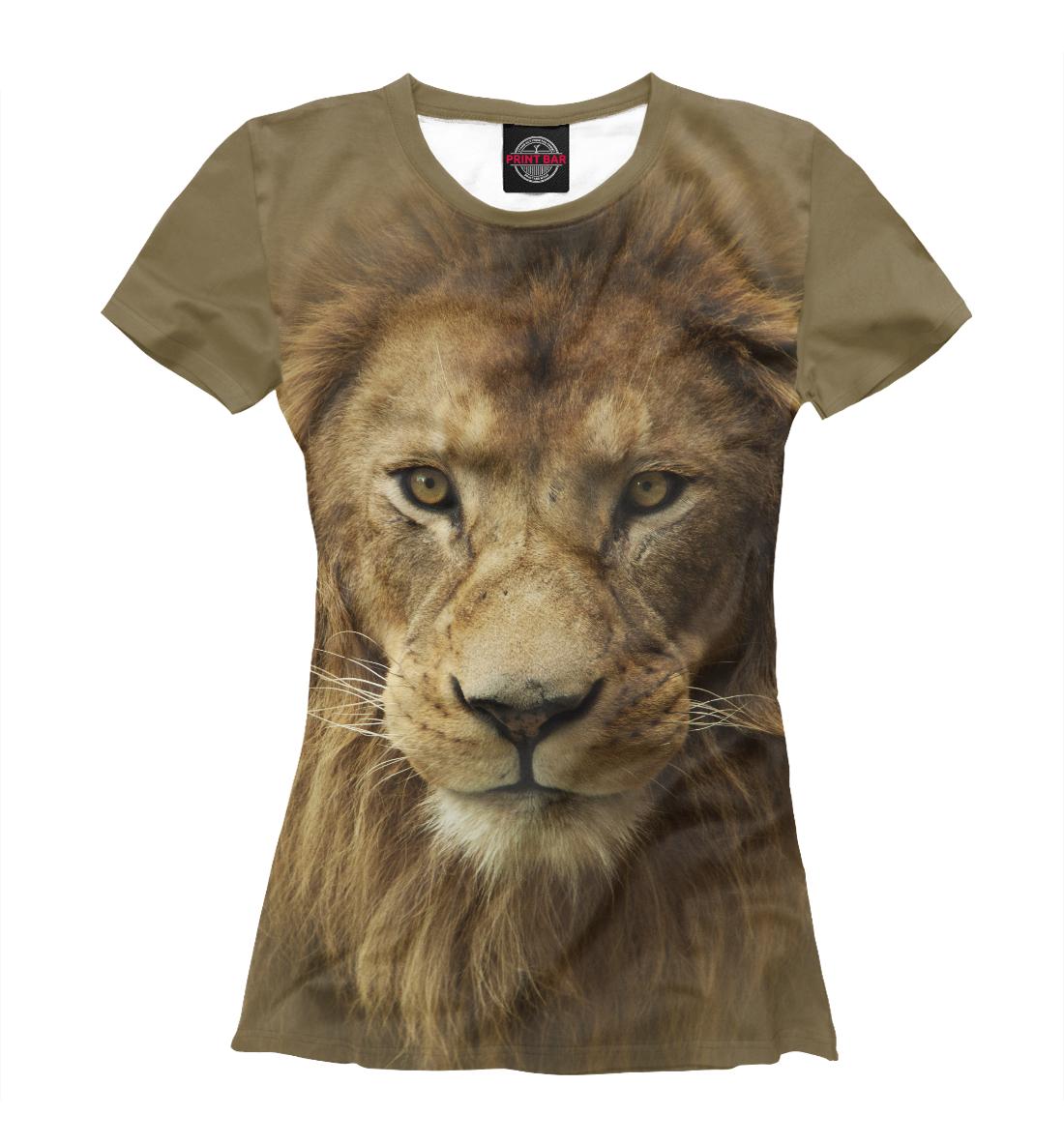 Купить Lion, Printbar, Футболки, HIS-486288-fut-1