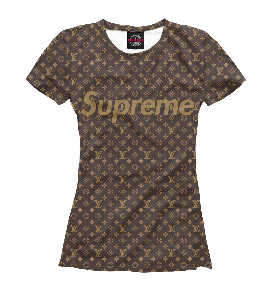 Купить Supreme Louis Vuitton, Printbar, Футболки, SPR-676676-fut-1