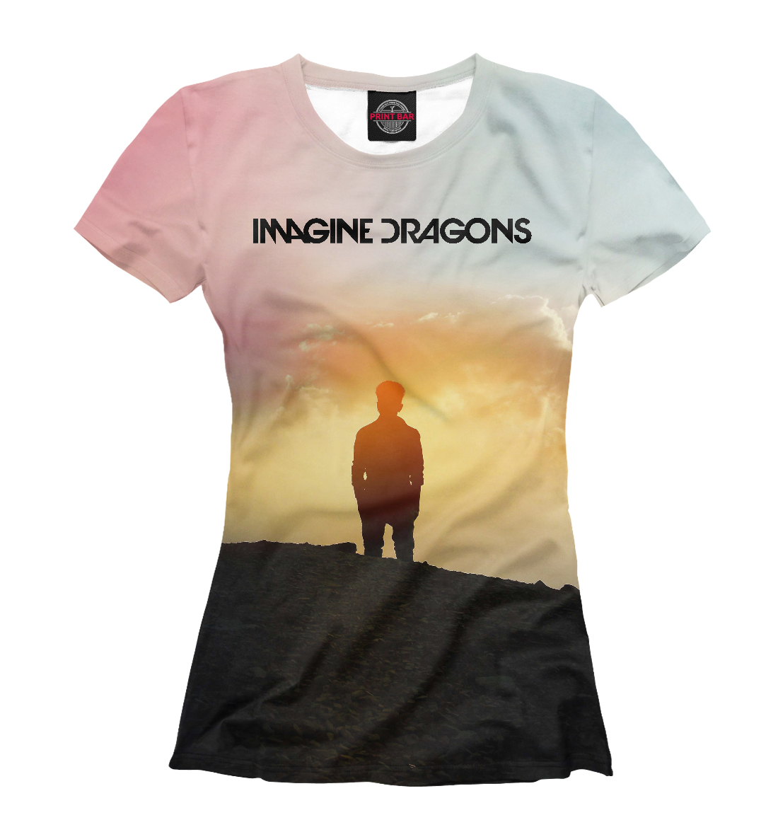 Купить Imagine Dragons, Printbar, Футболки, IMA-959016-fut-1