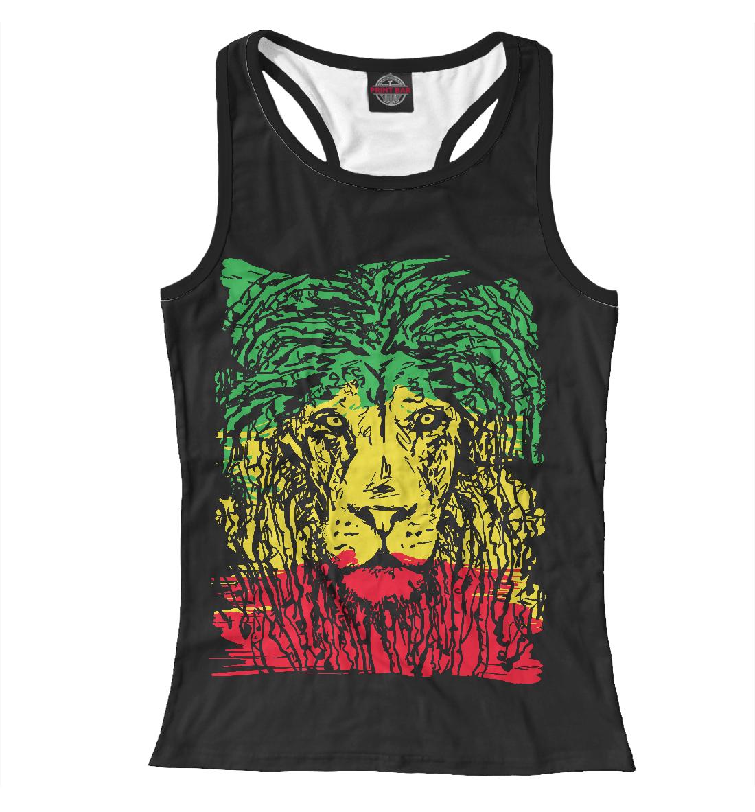Купить Rasta Lion, Printbar, Майки борцовки, HIP-443943-mayb-1