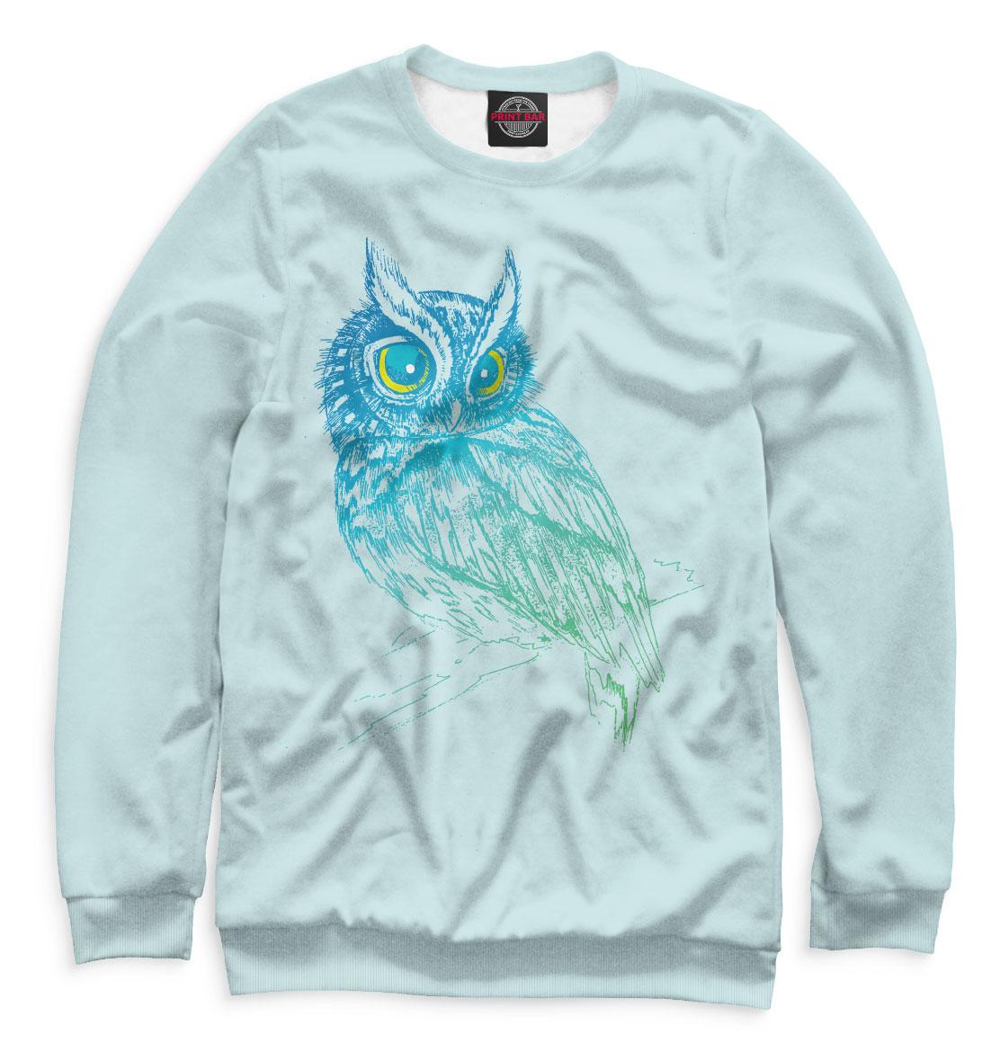 Купить Сова на ветке, Printbar, Свитшоты, OWL-715085-swi-1