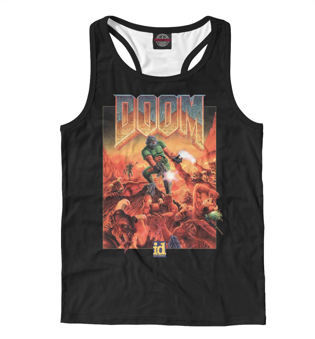 Купить DOOM poster, Printbar, Майки борцовки, RPG-356153-mayb-2