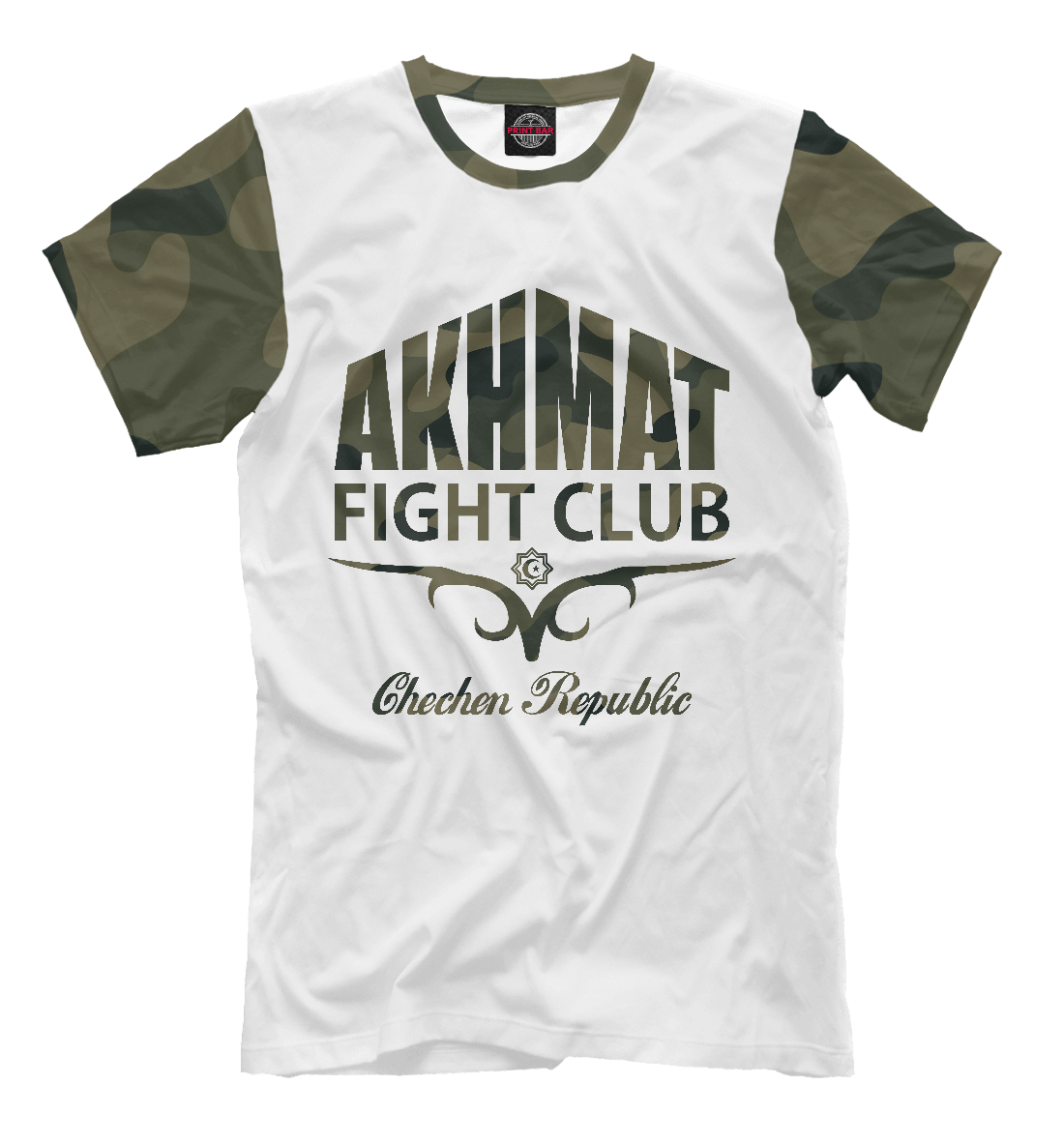 Купить Akhmat Fight Club, Printbar, Футболки, AFC-531638-fut-2