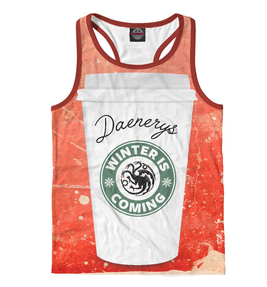 Купить Кофе для Дейенерис, Printbar, Майки борцовки, IGR-756831-mayb-2