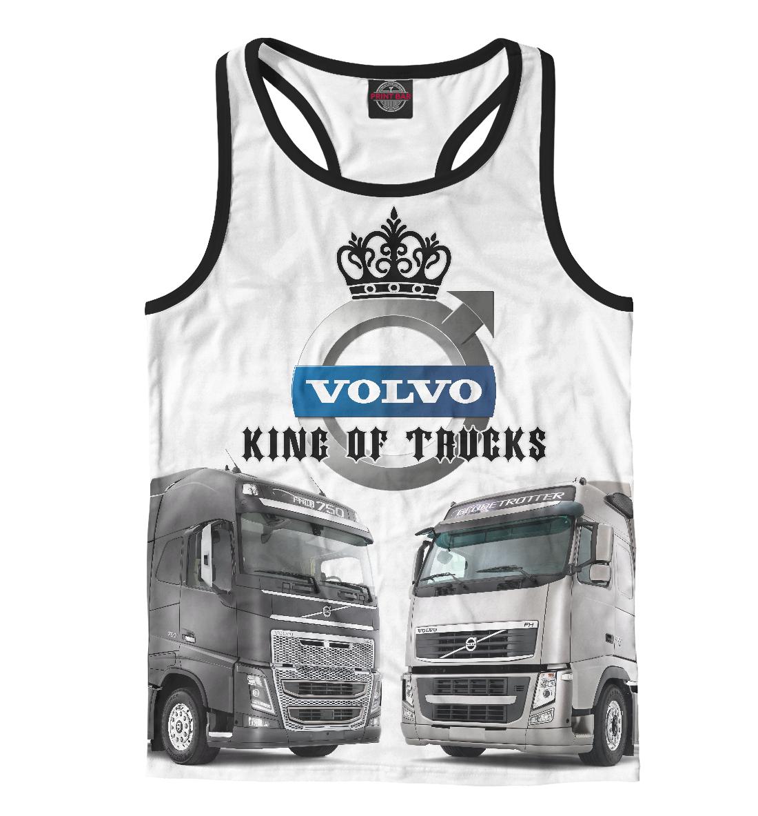 Купить VOLVO - король грузовиков, Printbar, Майки борцовки, GRZ-894611-mayb-2